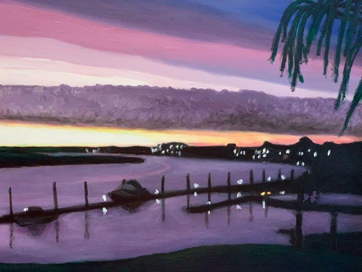 Winter Sunrise in Thunderbolt - Leona Patrick