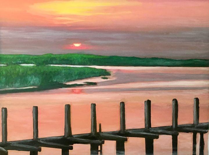 Summer Sunrise in Thunderbolt - Leona Patrick
