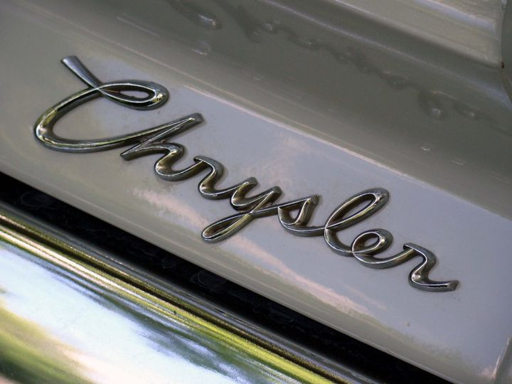 Silver Chrysler Letters - 402 Photography