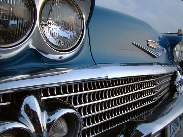 Old Blue Bel Air - 402 Photography