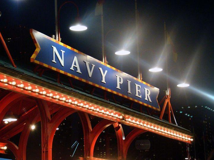 Navy Pier Night - 402 Photography