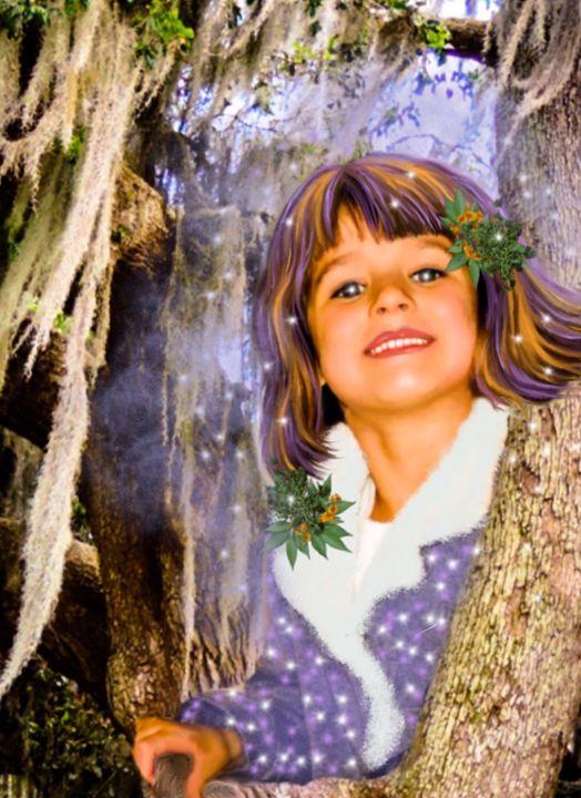 Avery, Fairy of the oaks - Holly Williams