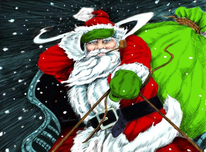 Santa's on his way - dsherburne
