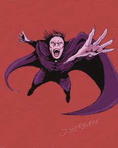 Dracula strikes