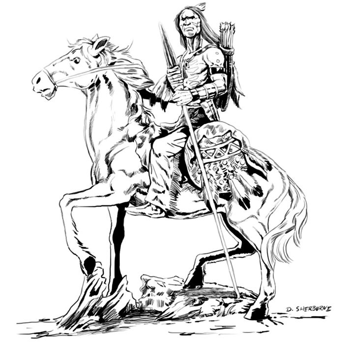Native Warrior - dsherburne