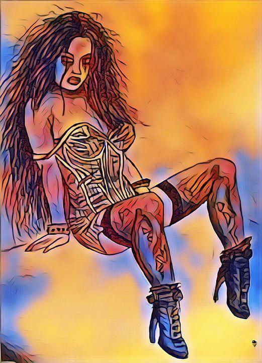 Gothic Girl - IainMcL Scotland