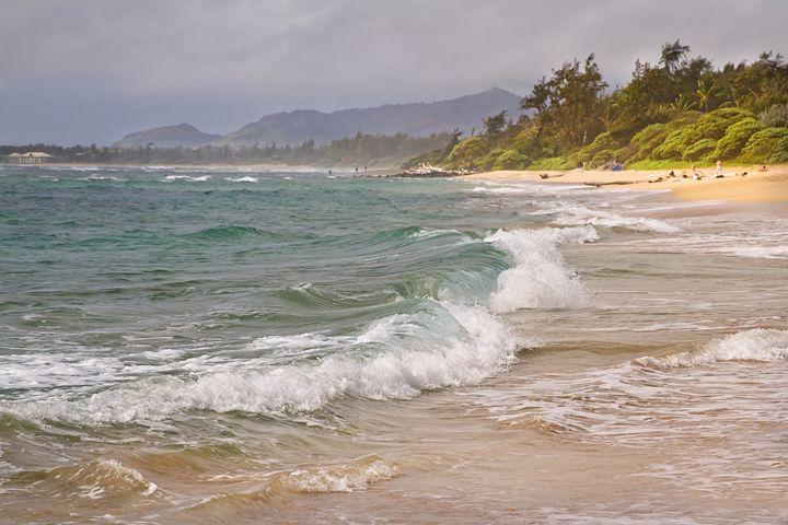Beach Waves - Angela Rancher Photography