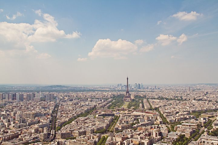 Hazy Day in the City of Love - Angela Rancher Photography