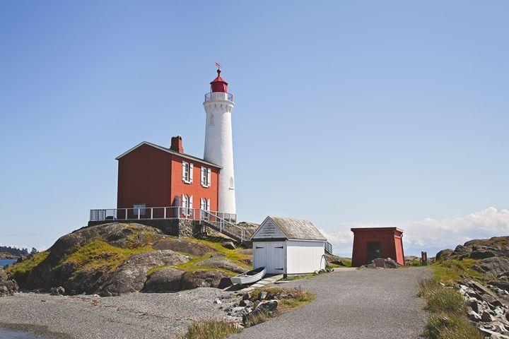 Fisgard Lighthouse - Angela Rancher Photography