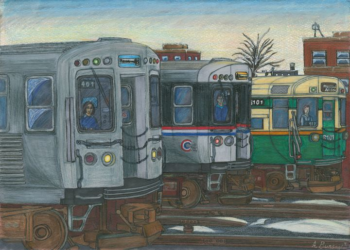 The LAst Ride, December 4th, 1992 - AB-SURD9 Fine Art and Prints LLC