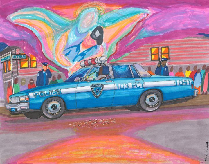Eddie Byrne's CAr; 1988 - AB-SURD9 Fine Art and Prints LLC