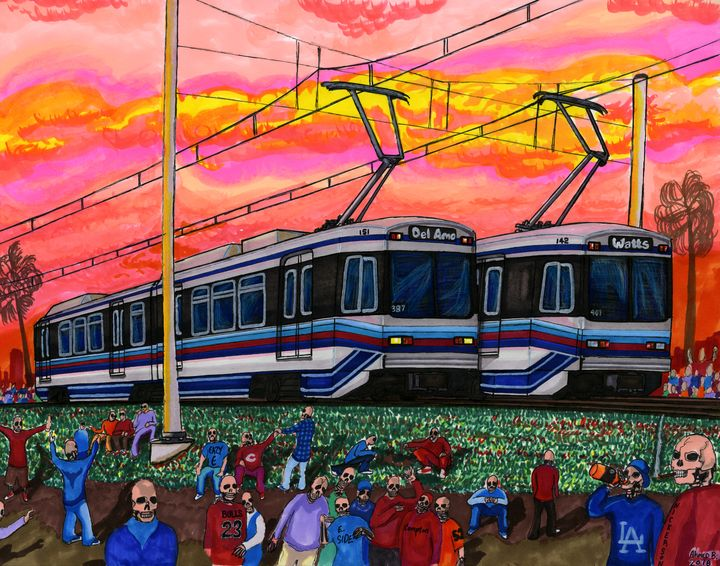 Metro Truce Line, April 28th, 1992 - AB-SURD9 Fine Art and Prints LLC
