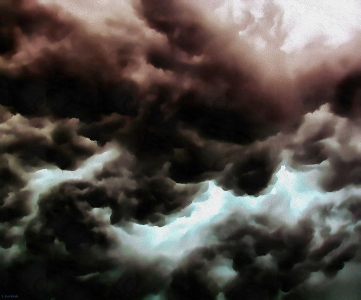 Storm Clouds 1 - Stocksom Art Prints