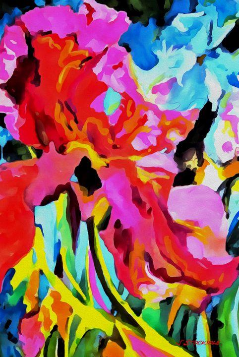 Abstract Garden 3 - Stocksom Art Prints