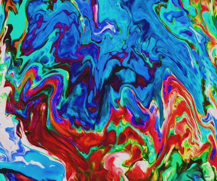 Abstract F - Stocksom Art Prints