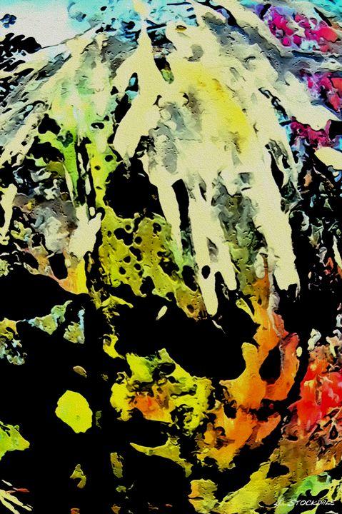 Abstract Garden 2 - Stocksom Art Prints