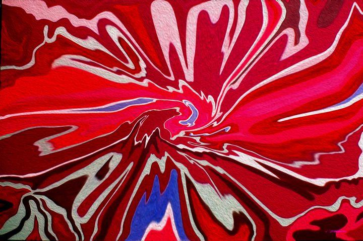 River Red Agate-001 - Stocksom Art Prints