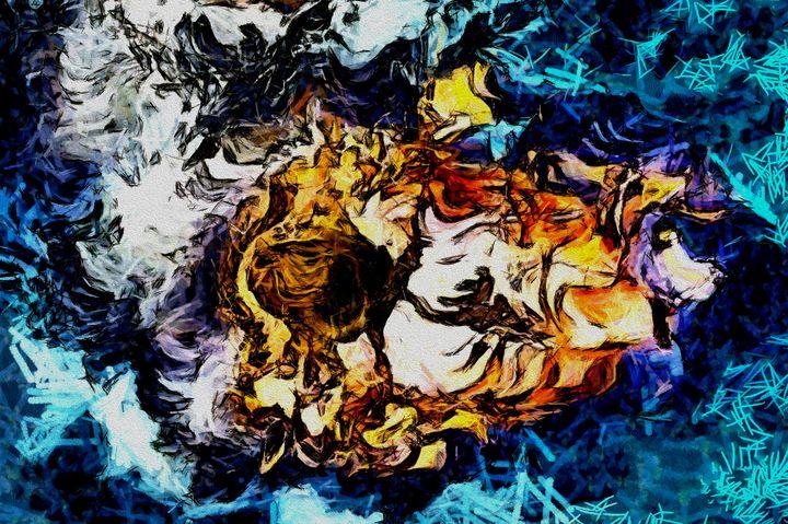 Aqua Riches 1 - Stocksom Art Prints