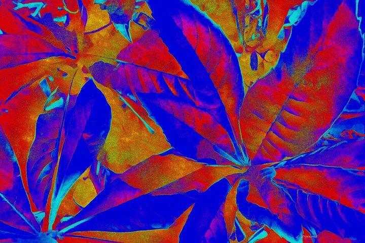 I Love Leaves 6 - Stocksom Art Prints