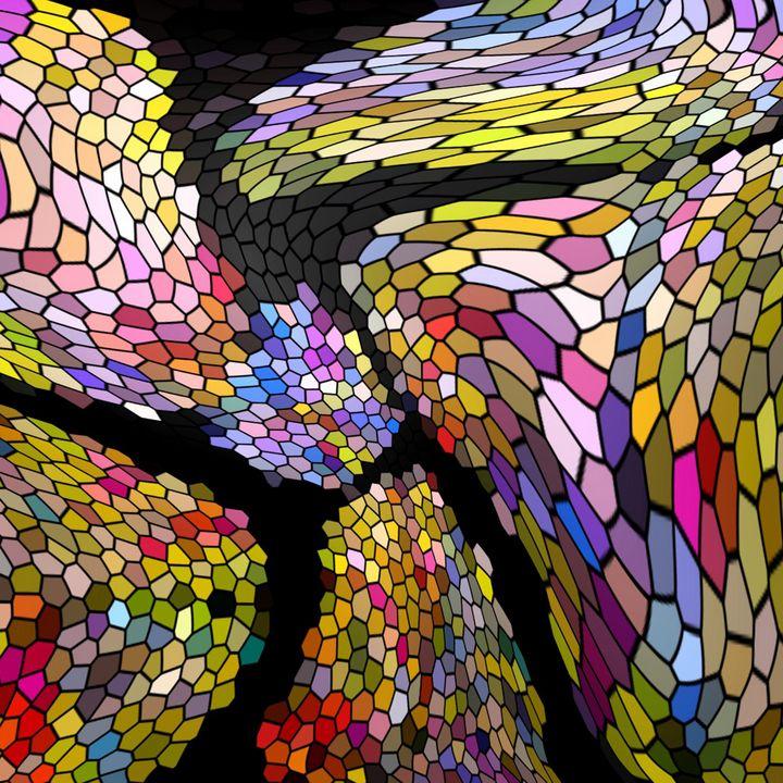 Crystal Mosaic - Stocksom Art Prints