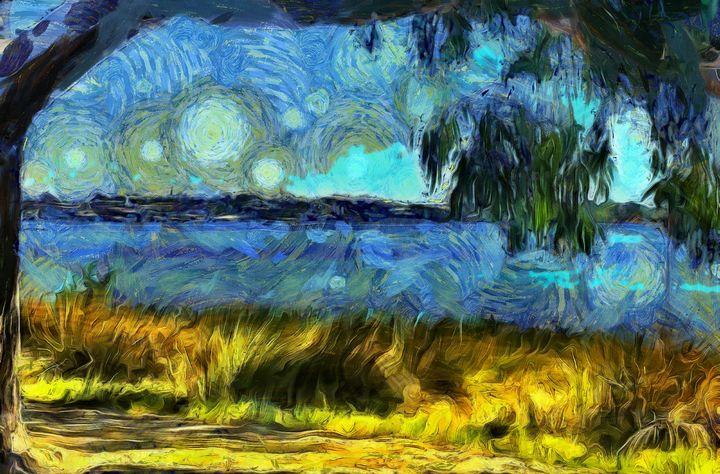 River View - Stocksom Art Prints