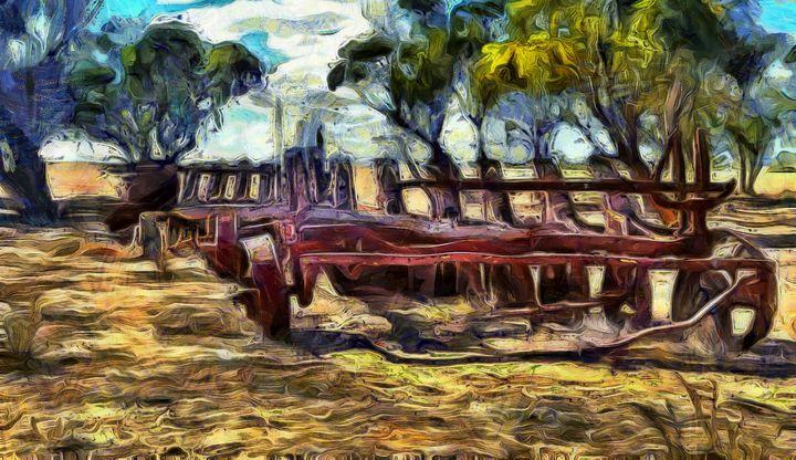 Forgotten Farming - Stocksom Art Prints