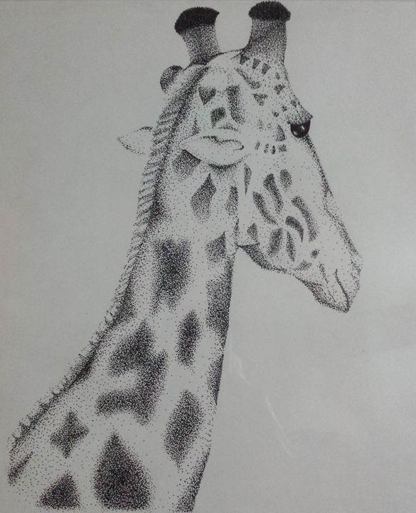 Portrait of a Giraffe - Newhouse