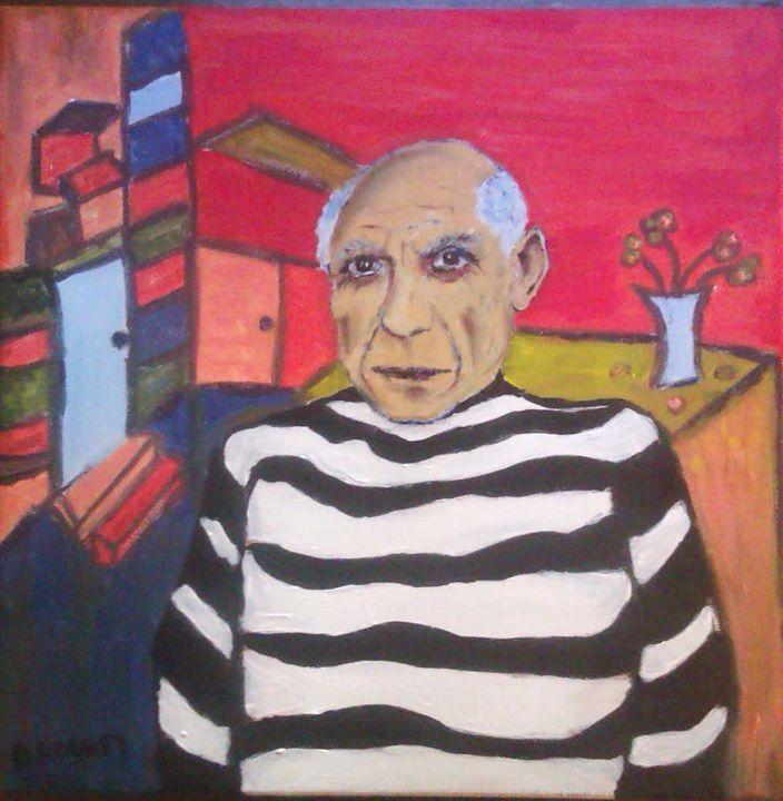 Picasso's Studio - Domhnall Rooney