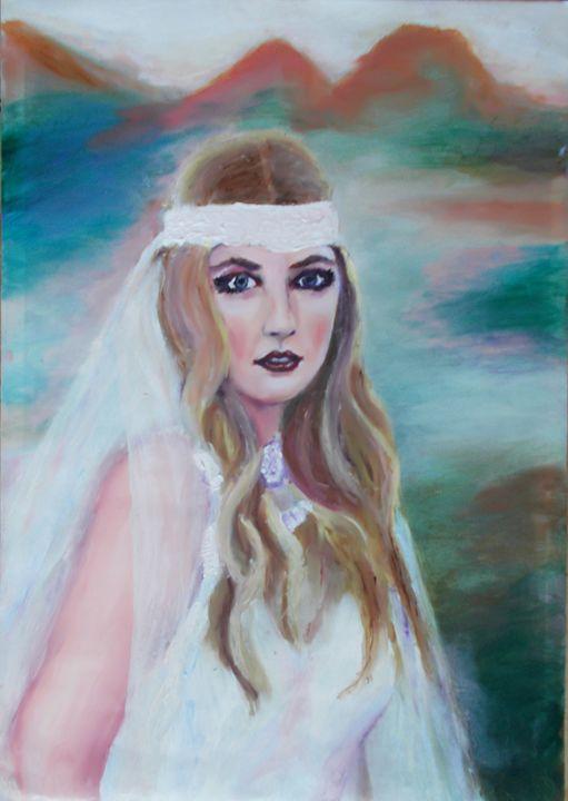Bride in White - Domhnall Rooney