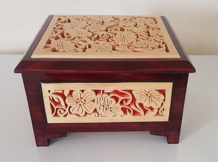 Decorative Trinket Box fine Art - Sylvia's Art