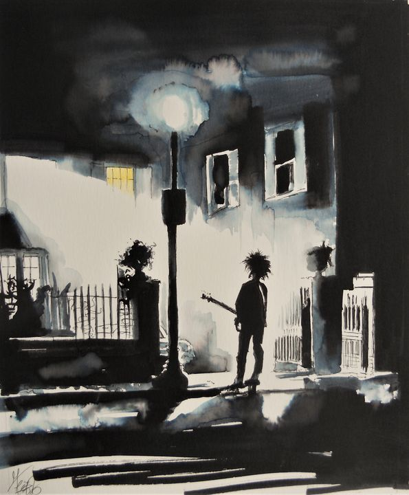 Robert Smith as film the Exorcist - Federica Gallery