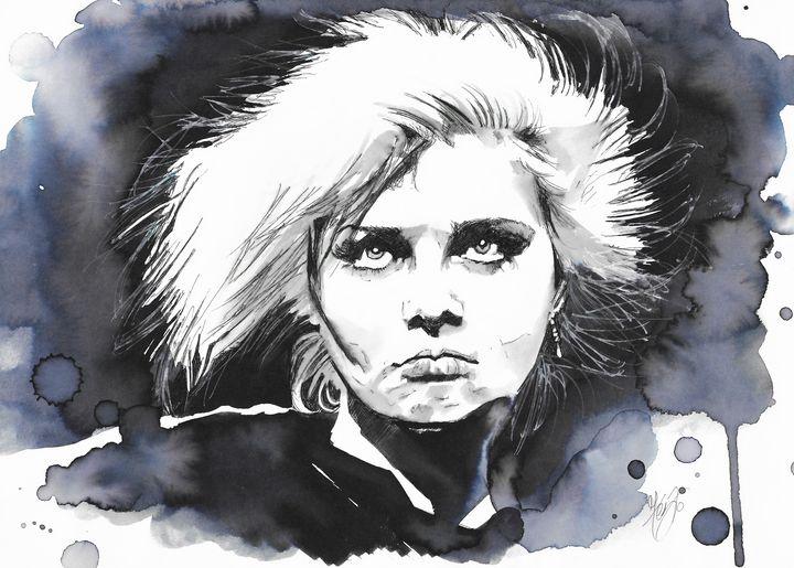 Portrait of Anja Huwe - Federica Gallery