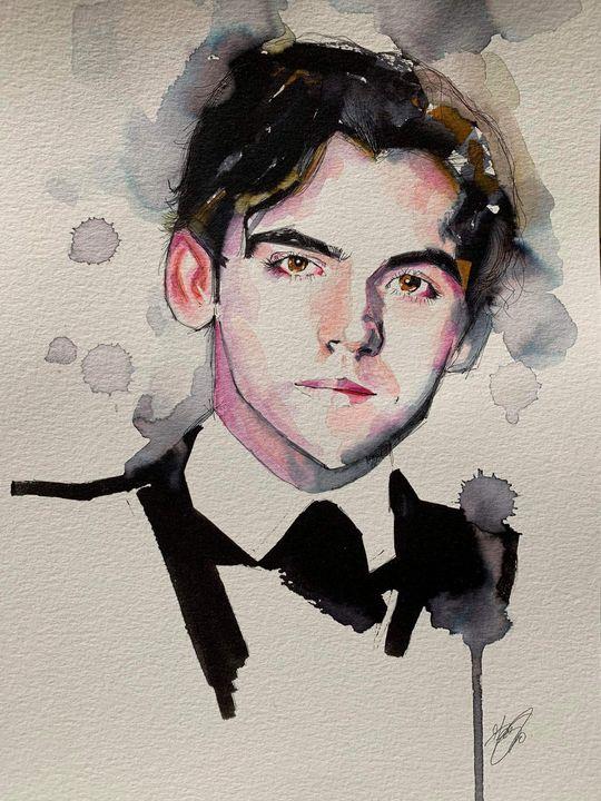 Portrait of Federico García Lorca - Federica Gallery