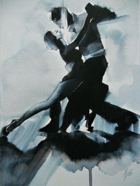 Tango dancers - Federica Gallery