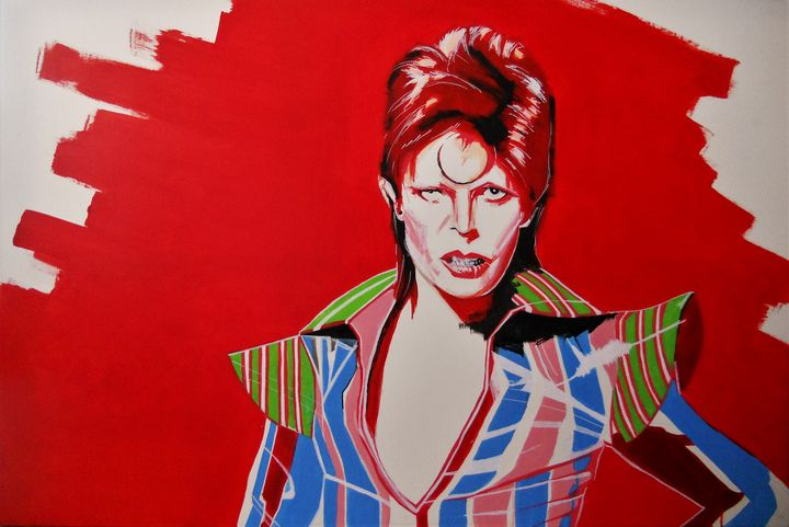Ziggy Stardust, David Bowie - Federica Gallery