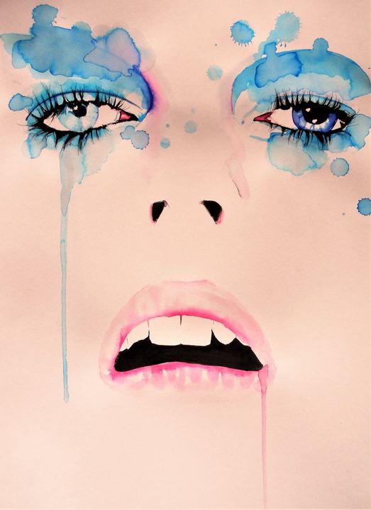 David Bowie Eyes - Federica Gallery
