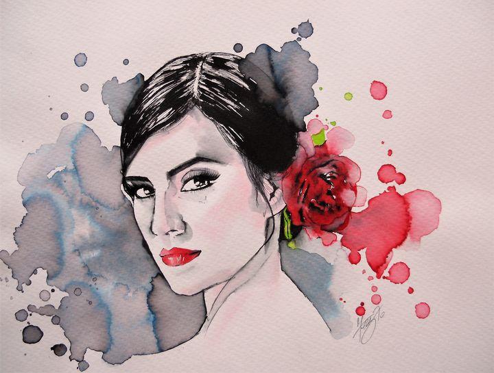 Paloma, flamenco dancer - Federica Gallery