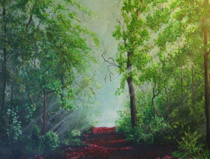 Red leaf trail - Thomas Coulson