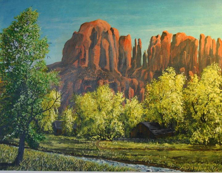 Red Cliffs - Thomas Coulson