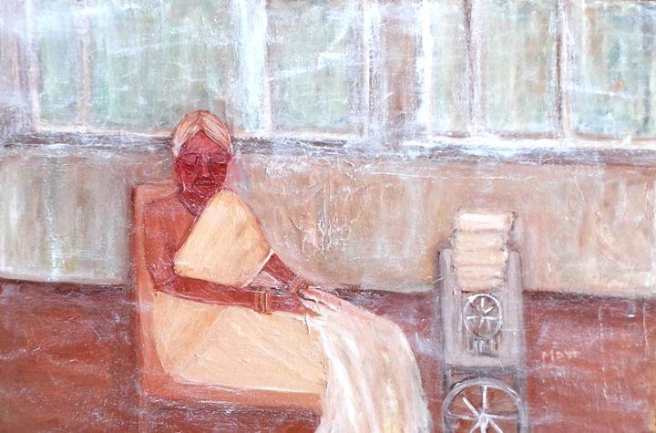 The seamstress - Maya Art