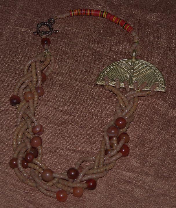 Multistrand necklace - Maya Art