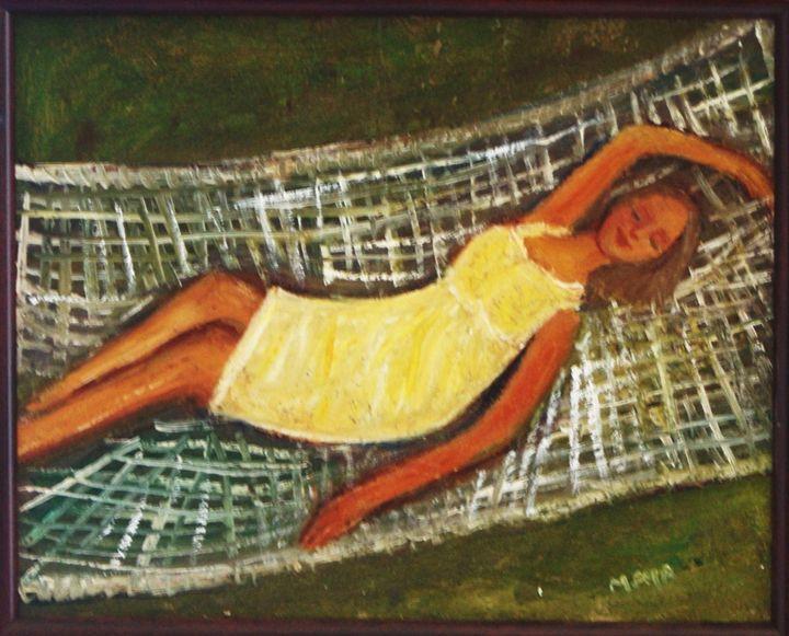 Sleeping beauty - Maya Art