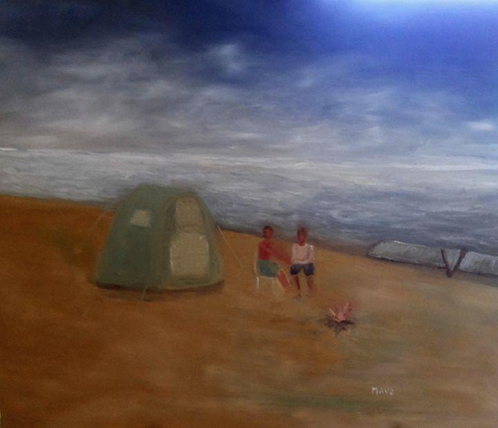 Camping - Maya Art