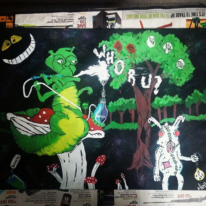 Alice In Wonderland - Hollz Artshop