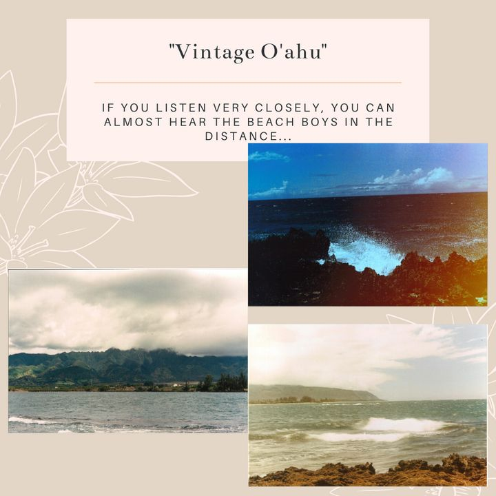 Vintage O'ahu Stationary Pack - Worth Writing Home About