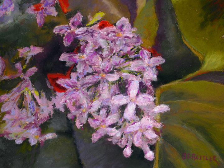 Lilac - Artwork by Bonnie Ferguson Butler