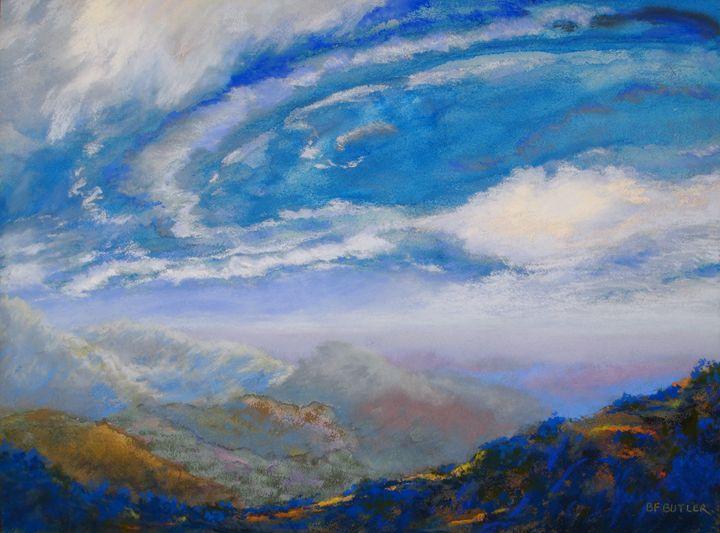 Skyline Atmospherics - Artwork by Bonnie Ferguson Butler