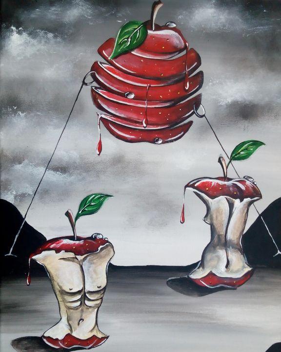 """""""La pomme d'Amour d'Adam et Eve - KOLACINSKI Natacha"""
