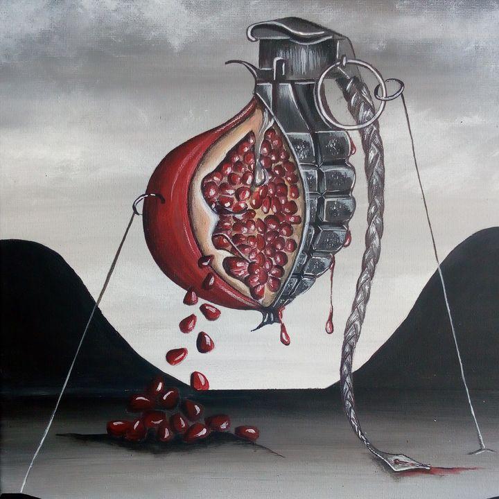 La grenade (Vendu) - KOLACINSKI Natacha