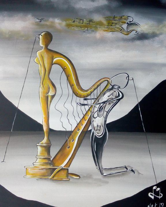 L'harmonie parfaite (Vendu) - KOLACINSKI Natacha